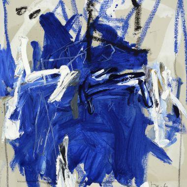 Oeuvre Huit en huit en bleu Destarac Galerie des Tuiliers