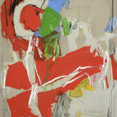 pimpant-tout-ardent-II-40F_100x81 cm, Huile sur toile