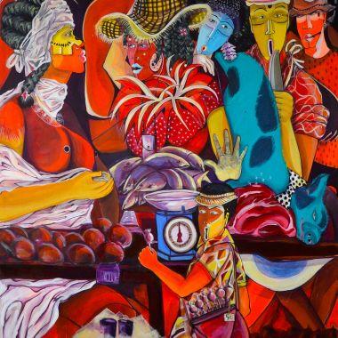 Ambiance de couleurs - AZA MANSONGI - Galerie des Tuiliers : Galerie ...