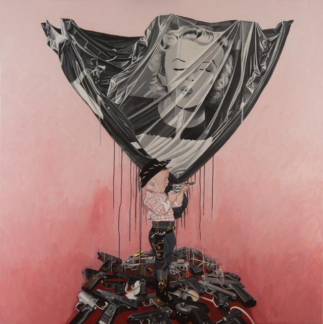 Oeuvre John Lopès-Curval Galerie des Tuiliers