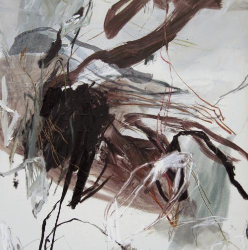 PANGEA - 02 10 14 - 2014 - 146 x 97 cm - huile et médium sur toile- grande taille